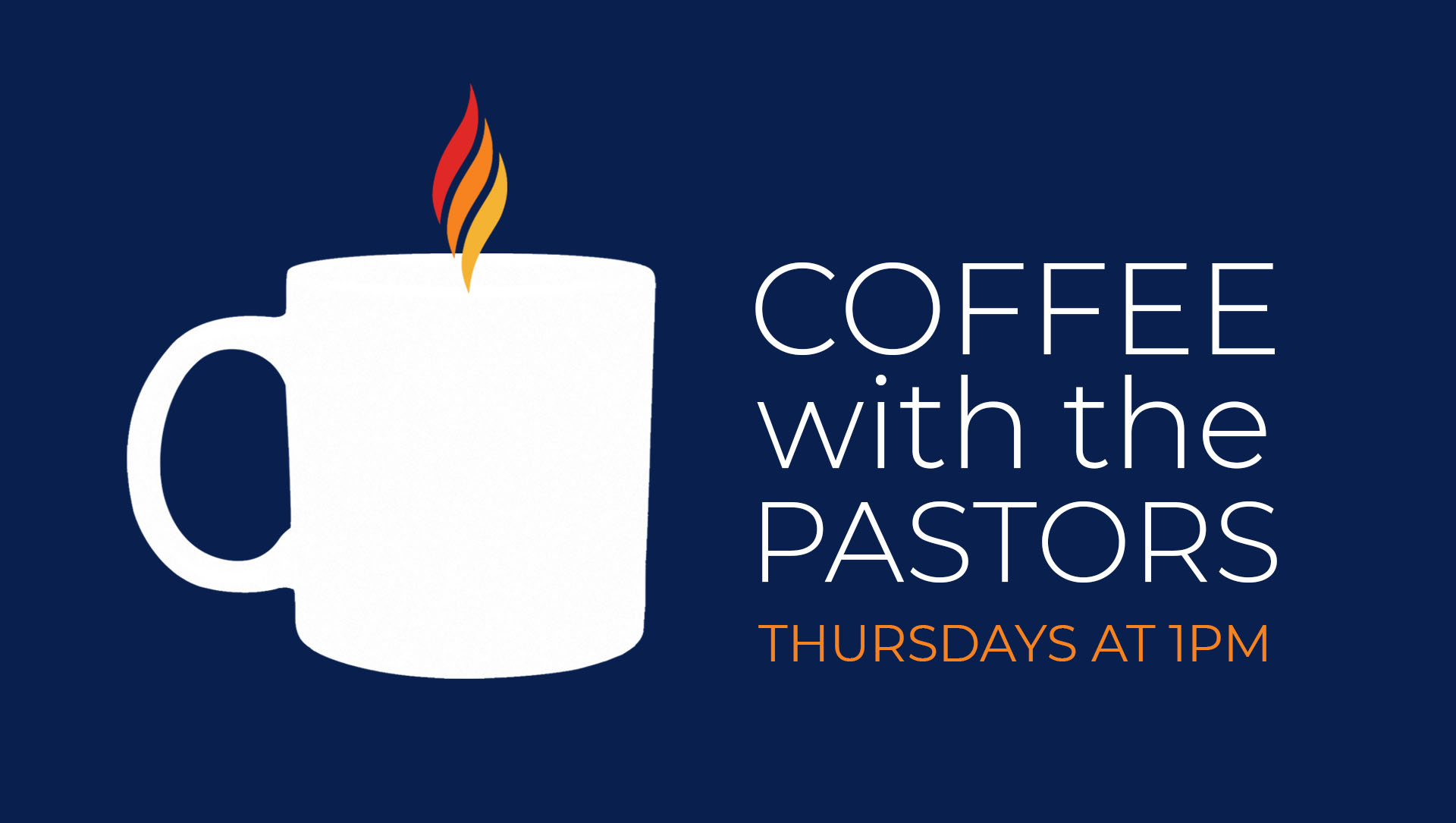 coffee with the pastors